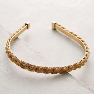 Anthropologie Goldenweave Headband
